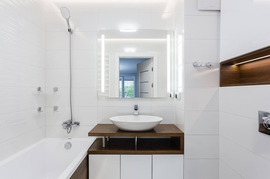 Galeria Zdjęć Zdjęcie Mała łazienka W Kolorze Bieli I