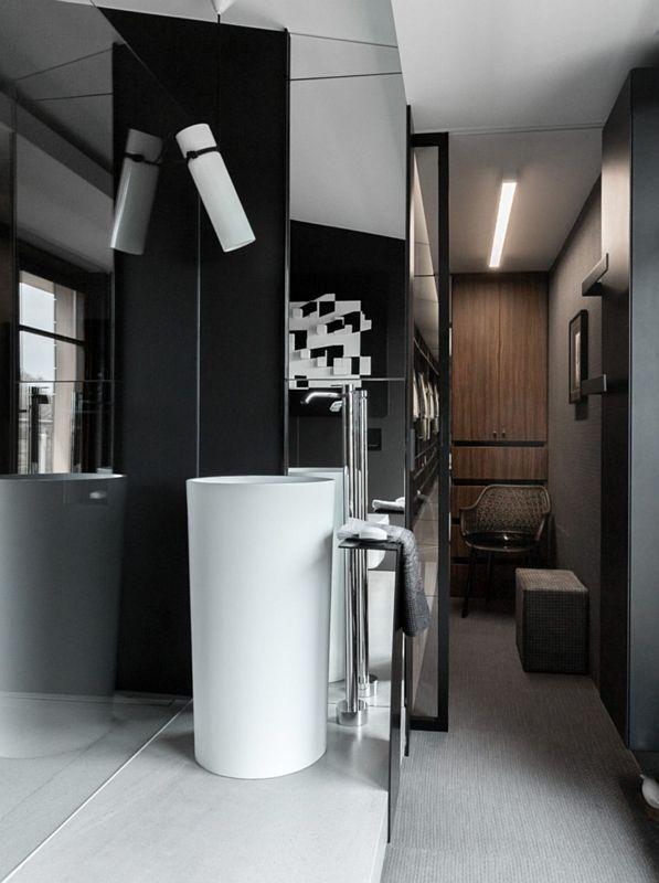 Galeria Zdjęć Zdjęcie łazienka W Czarnym Kolorze Z