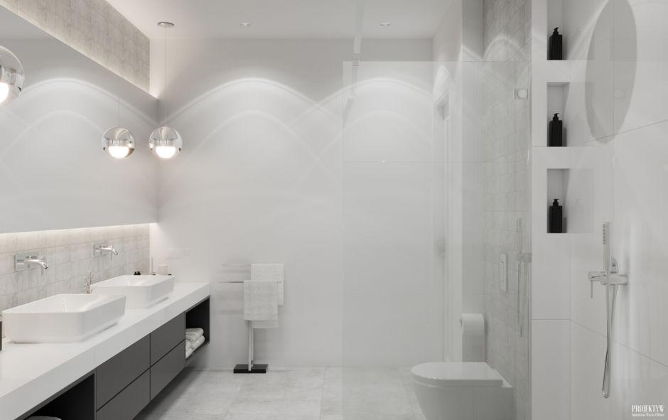 Galeria Zdjęć Zdjęcie Aranżacja Białej łazienki