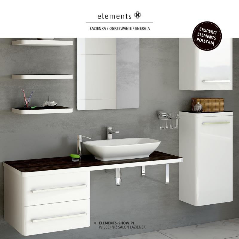 Galeria Zdjęć Zdjęcie Meble łazienkowe Elements White
