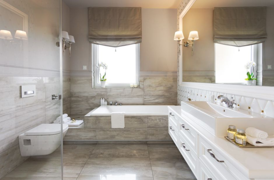 Galeria Zdjęć Zdjęcie Duża łazienka W Stylu Glamour Z