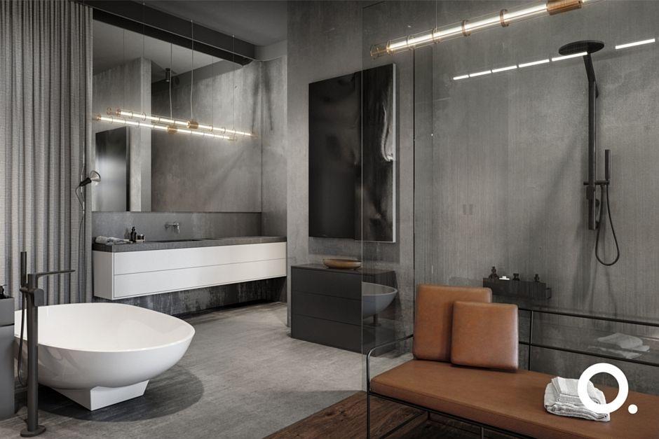 Galeria Zdjęć Zdjęcie Duża łazienka Z Białą Wanną