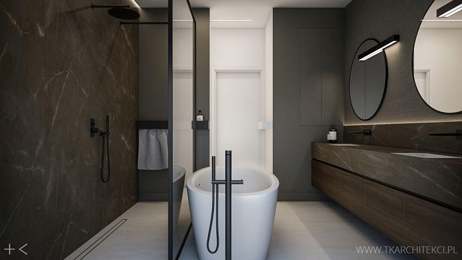 Galeria Zdjęć Zdjęcie Elegancka Duża łazienka Z Wanną I