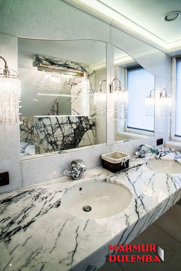 Galeria Zdjęć Zdjęcie Blat Marmurowy W Aranżacji łazienki