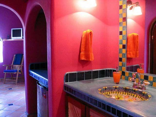 Galeria Zdjęć Zdjęcie łazienka W Stylu Meksykańskim