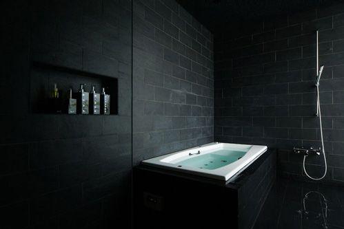Galeria Zdjęć Zdjęcie Czarna łazienka Wszystko O łazienkach