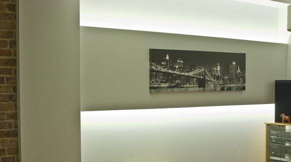 Podświetlenie LED półek