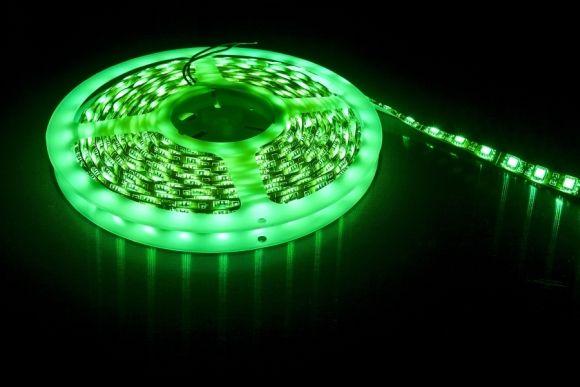 Zielona taśma LED