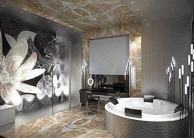Galeria Zdjęć Zdjęcie łazienka W Stylu Glamour Wszystko