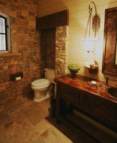 Galeria Zdjęć Zdjęcie łazienka W Stylu Rustykalnym