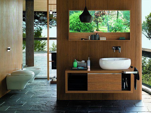 Łazienka w stylu ekologicznym