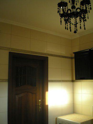 Galeria Zdjęć Zdjęcie Czarny żyrandol W łazience