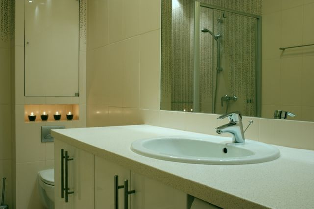 Galeria Zdjęć Zdjęcie Aranżacja łazienki Jasna łazienka
