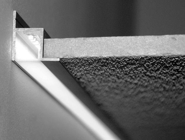 LED profil Soffitto aluminium anodowane