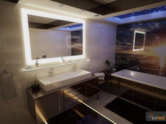 podświetlenie w kabinie prysznicowej LEDaTEC
