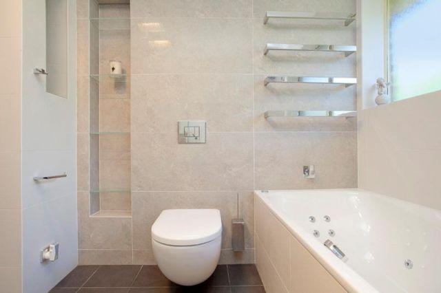 D Dobosz Galeria Aranżacja łazienki W Jasnych Barwach Z