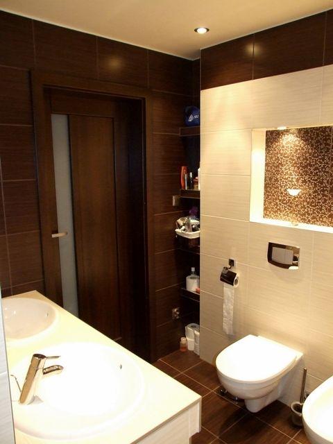 Galeria Zdjęć Zdjęcie Aranżacja łazienki W Brązie I Beżu
