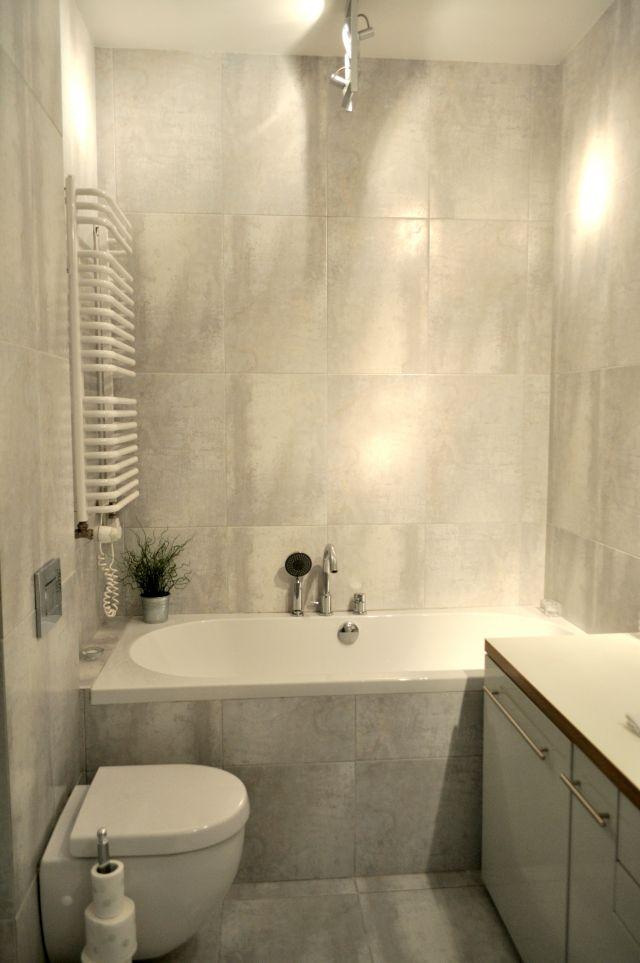 łazienka w płytkach