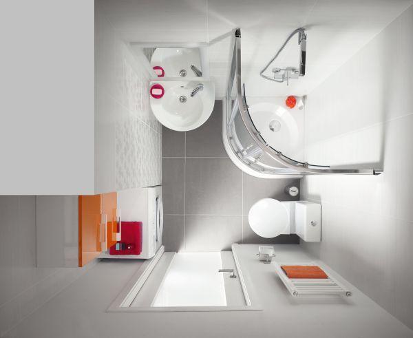Galeria Zdjęć Zdjęcie Aranżacja Małej łazienki Z