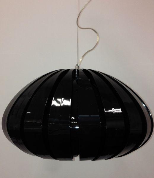 Fashionlight Galeria Nowoczesna Czarna Lampa Wiszaca Ozcan 5346