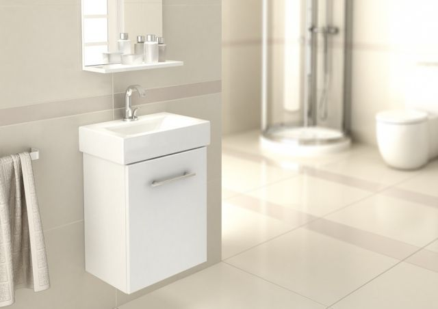 Deftrans - Meble łazienkowe VALENCIA marki Defra