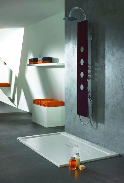 Panel prysznicowy Sanplast
