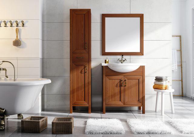 Meble łazienkowe z kolekcji Santos