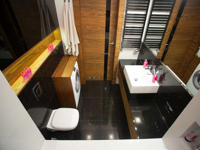 Stelaż wc jako półka w łazience