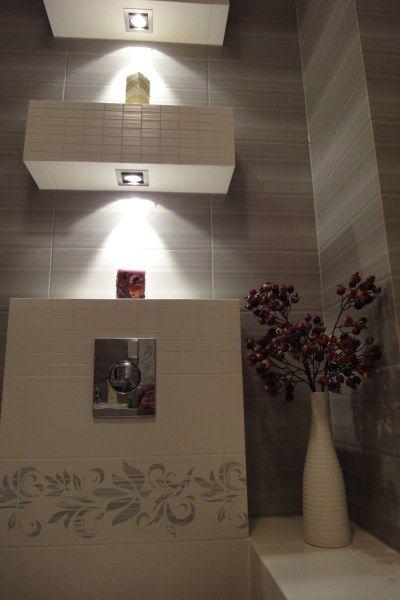 Galeria Zdjęć Zdjęcie Podświetlane Półki W łazience