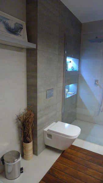 Maria R K Galeria Aranżacja łazienki Z Prysznicem Z Odpływem