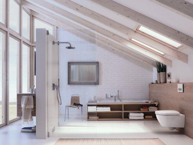 azienka na poddaszu ciekawe rozwi zania trendy w azience. Black Bedroom Furniture Sets. Home Design Ideas