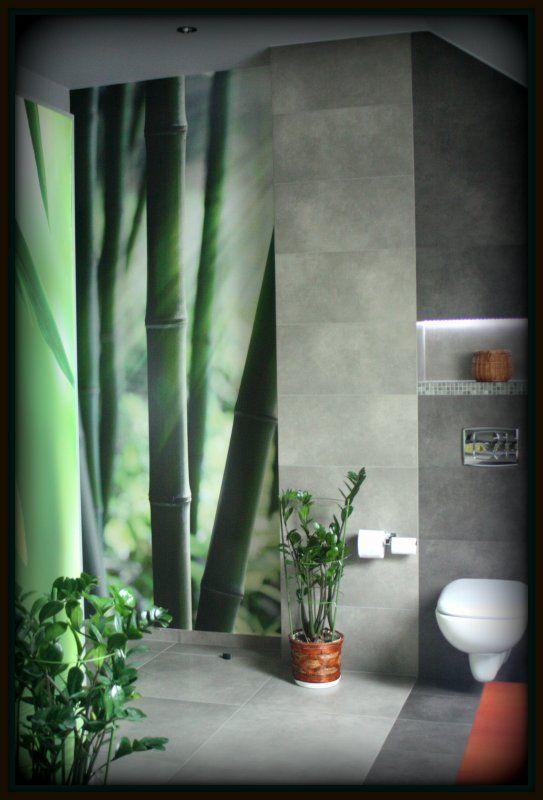 fototapeta z bambusem