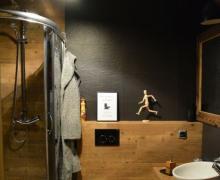 Justyna M K Galeria Aranzacja Lazienki Grafit Drewno