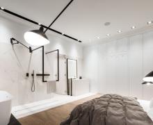 Łazienka połączona z sypialnią