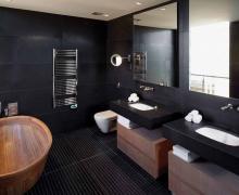 Galeria Zdjęć Zdjęcia Czarna łazienka Wszystko O łazienkach