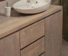 Komoda łazienkowa z drewna dębowego - Edar