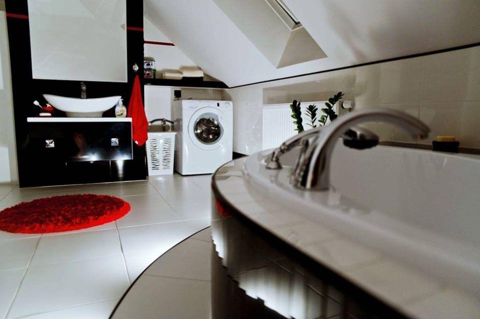 Patrycja B - galeria - łazienka na poddaszu - Łazienkowe inspiracje, aranżacje łazienek ...