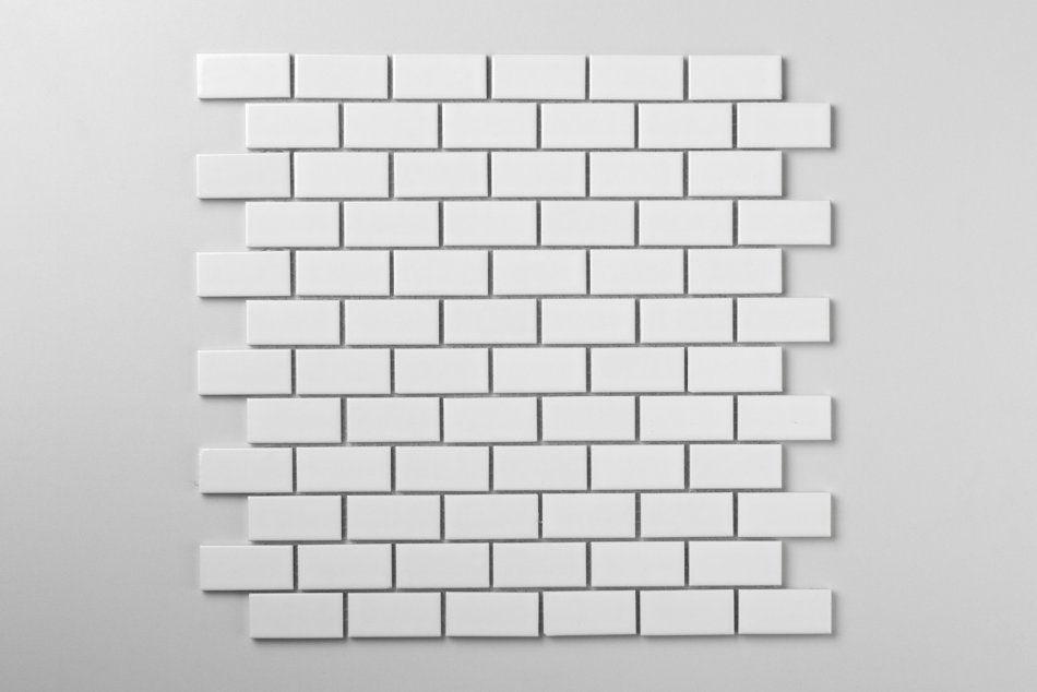 Mini cegiełka biała