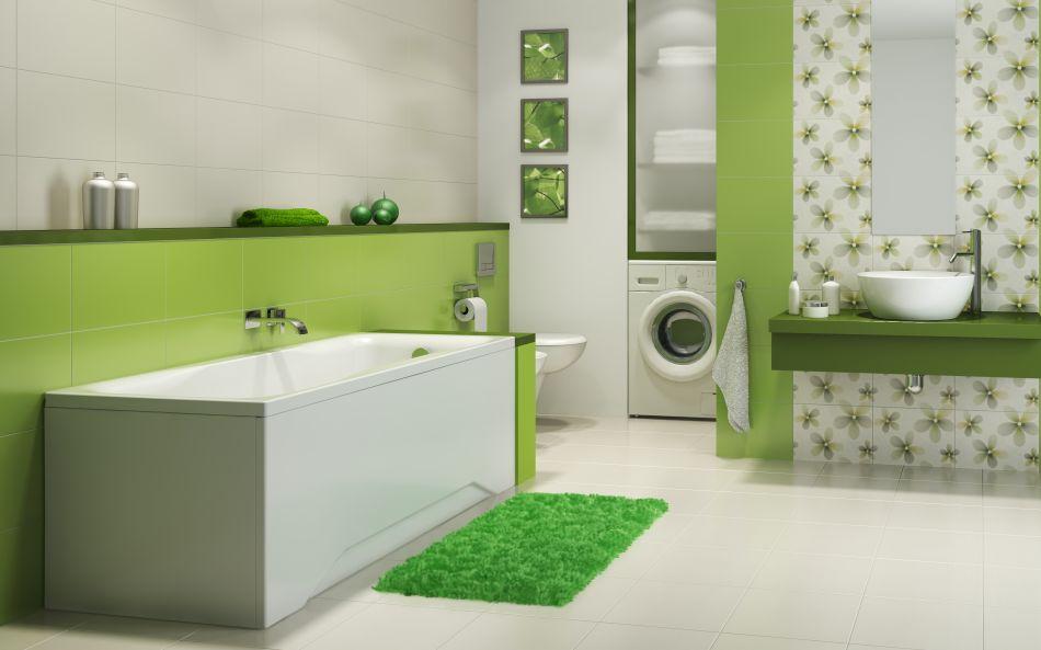 Cersanit - zielona łazienka