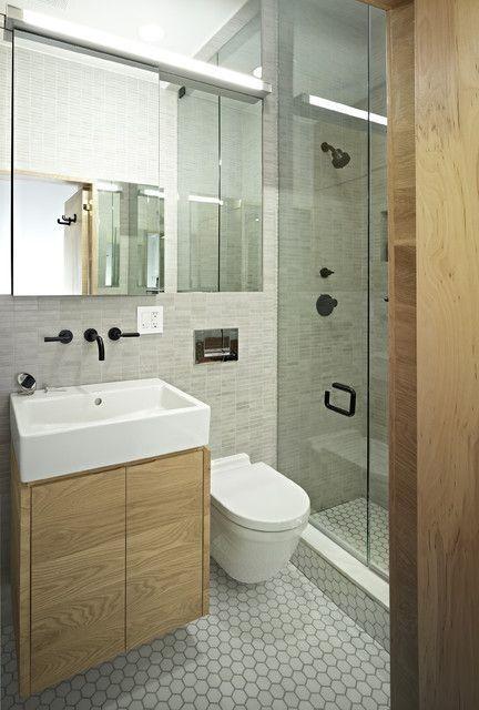 Płytki w małej łazience