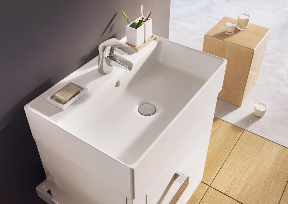 szafka pod umywalkę z kolekcji Qubic