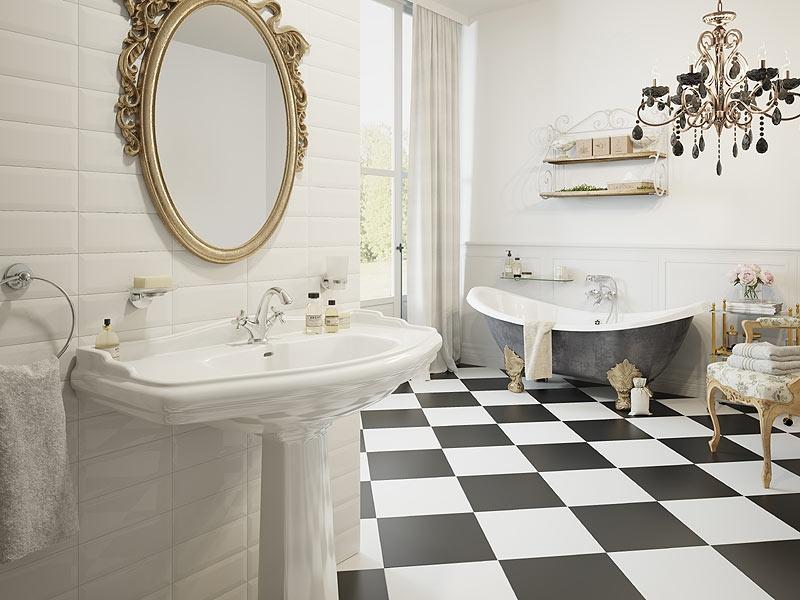 Jasna łazienka z akcesoriami Grace