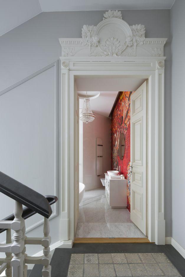 Łazienka z mozaiką - galeria - Klimatyczna łazienka z ...