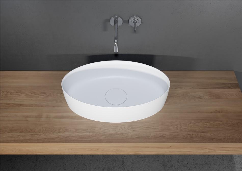 Riho - umywalka Thin z serii Solid Surface