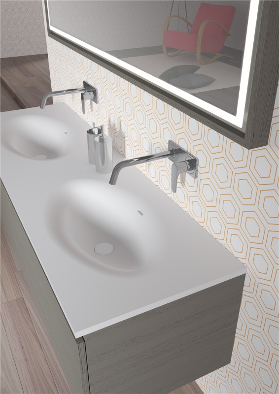 AVIANO - umywalka z serii Solid Surface