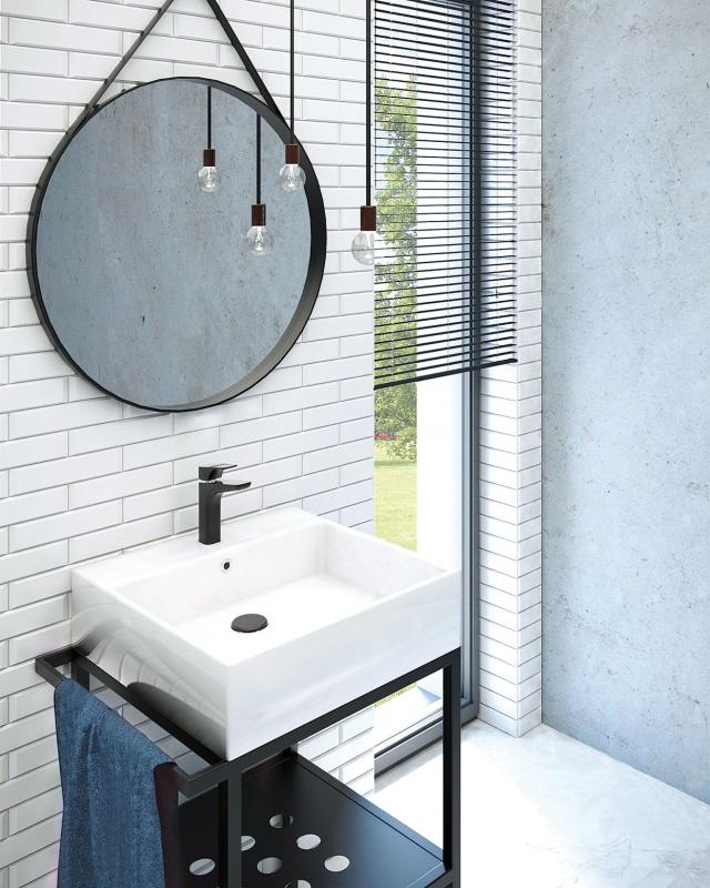 Konsola łazienkowa z umywalką Temisto