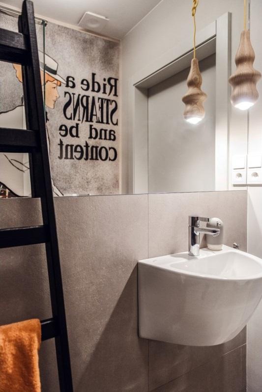 Lustro w aranżacji łazienki