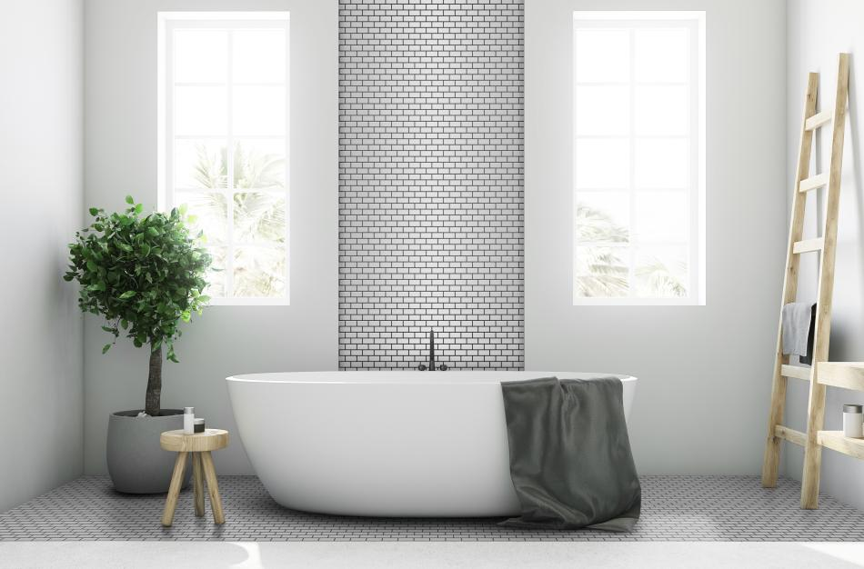 Mozaika Mini Cegiełka METALLIC SILVER mat - Raw Decor