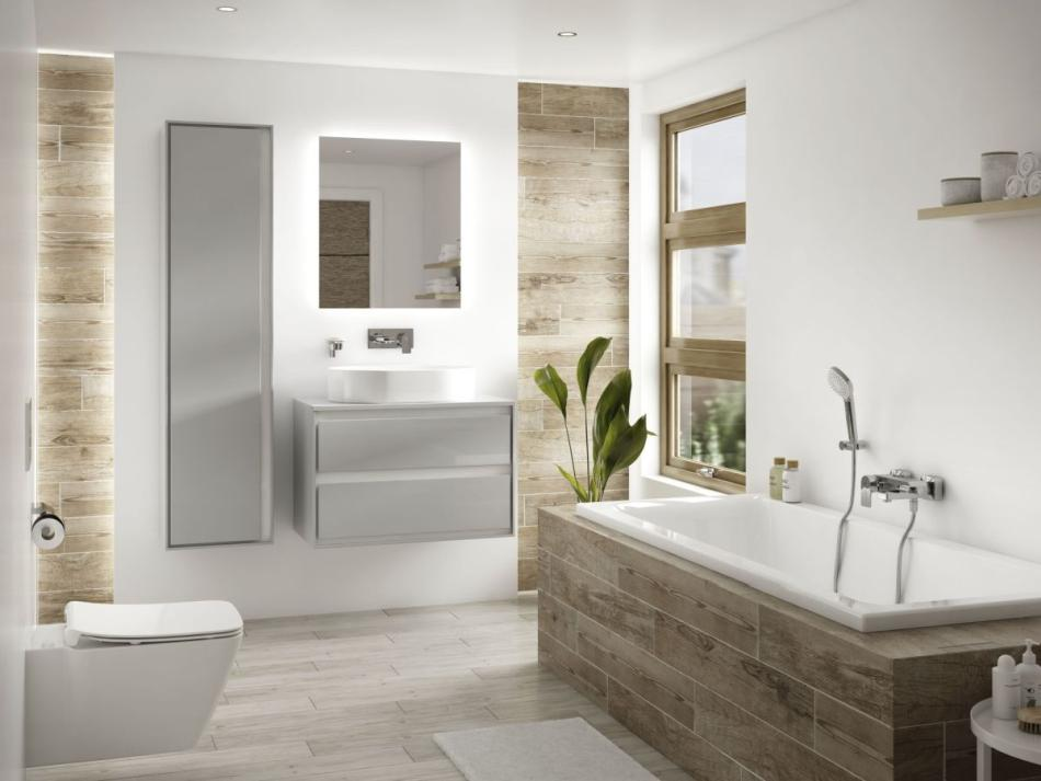 Ceramika sanitarna Strada II i meble Connect Air