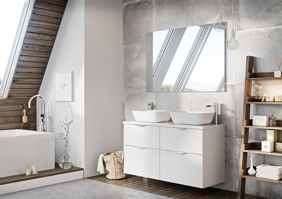 Kolekcja mebli łazienkowych Ambio New